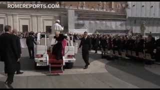 Pope Francis shows solidarity with victims of Iran earthquake, asks for prayers  4/10/13