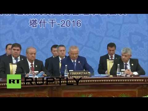 Uzbekistan: Putin hails SCO's importance to Russia's foreign policy