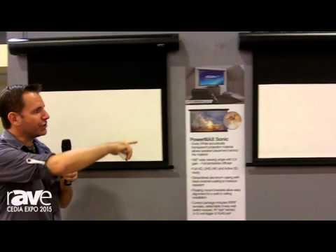 CEDIA 2015: Elite Screens Previews PowerMax Electric Projection Screen Options