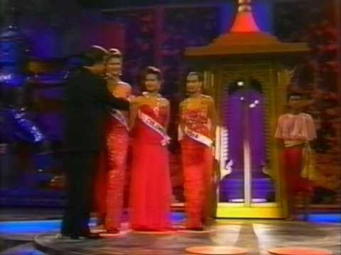 miss universe 1992 crowning moment youtube