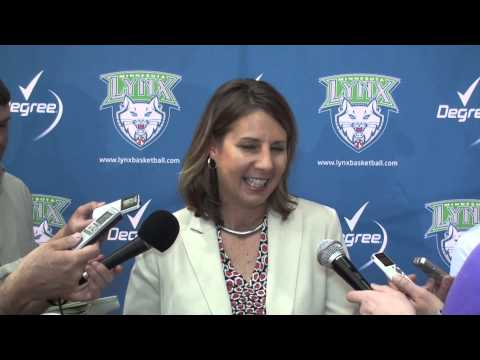 2013 Minnesota Lynx Media Day - Cheryl Reeve