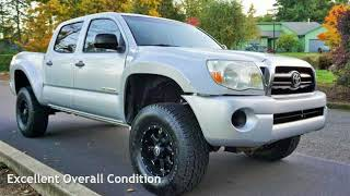 2007 Toyota Tacoma V6  Double Cab Lifted KING Shocks. for sale in Milwaukie, OR