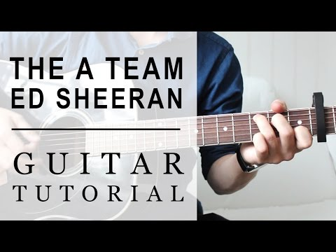 Ed Sheeran - The A Team | FAST Guitar Tutorial | EASY Chords