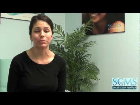 Female Hispanic Laser Acne Scar Removal
