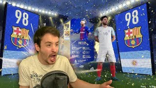 I GOT TOTS MESSI IN A PACK - FIFA 18 ULTIMATE TEAM PACK OPENING