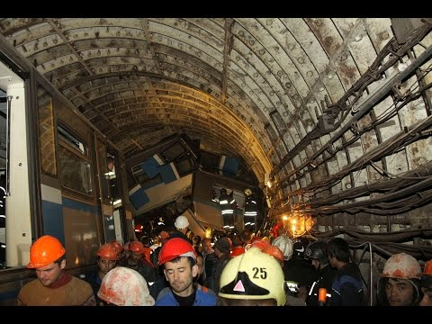 Deadly Derailment in Moscow Metro