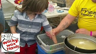 How we Make Wax Hands   Northern Ireland .      Available for family fun days fetes fairs and more .