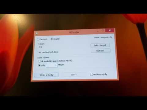 Видео как проверить скорость флешки USB 3.0