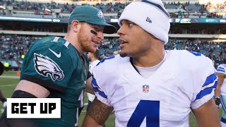 More excuses are made for Carson Wentz than Dak Prescott – Bobby Carpenter | Get Up