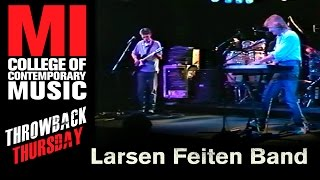 Larsen Feiten Band  - Musicians Institute(MI)がMIにて行われた82分のライブ映像を公開 thm Music info Clip