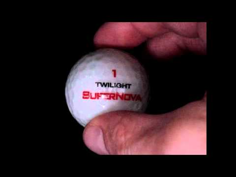 Supernova LED Golf Ball