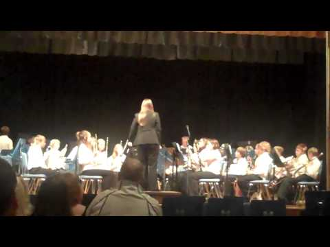 Delta Middle School 7th Grade Band Fall Band Concert Oct 14th 2010