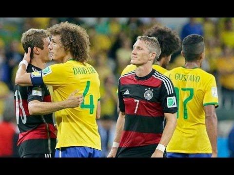 Brasil 1-7 Alemania All Goals & FULL HIGHLIGHTS (08/07/14)