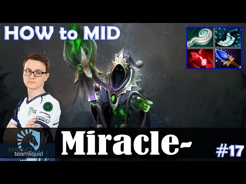 Miracle - Rubick HOW to MID | Dota 2 Pro MMR  Gameplay #17