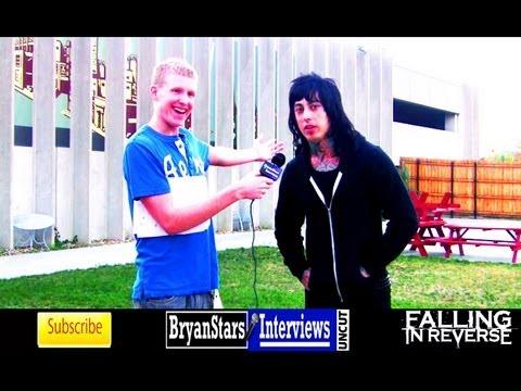 Falling In Reverse Interview Ronnie Radke UNCUT 2012