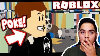 REACTING TO POKE BULLYING HIS FRIEND!!! (Roblox Movie)