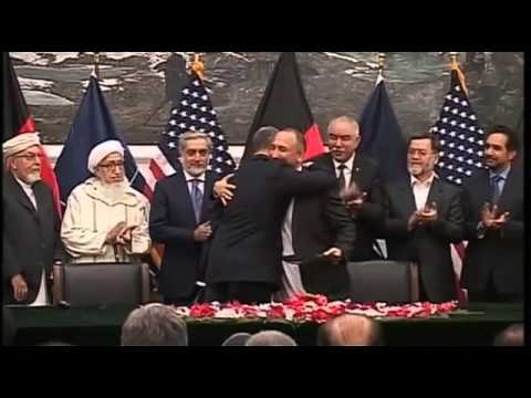 US & Afghanistan sign security pact