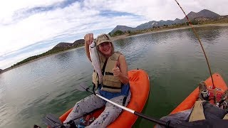 Western Slope Kayak Fishing for Rainbow Trout
