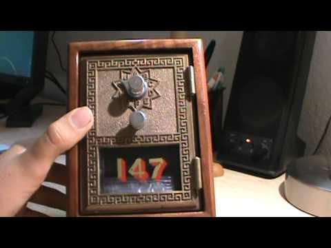 My Vintage 1966 P O Box Door Bank Youtube