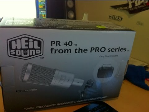 New Mic  Heil PR40