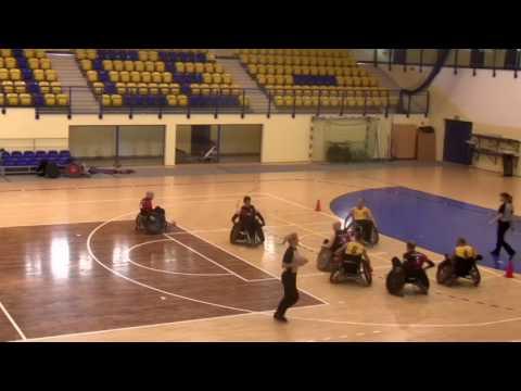 VII Katowicki Turniej Rugby Na Wózkach - Mecz O 5 Miejsce: Jokers – Saint Sinners 55:20