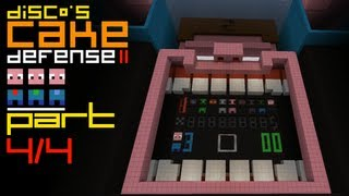 Minecraft Cake Defense II feat. Etho and Dinnerbone - Part 4 of 4