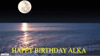 Alka  Moon La Luna - Happy Birthday