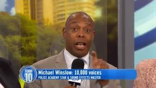 Michael Winslow | Studio 10