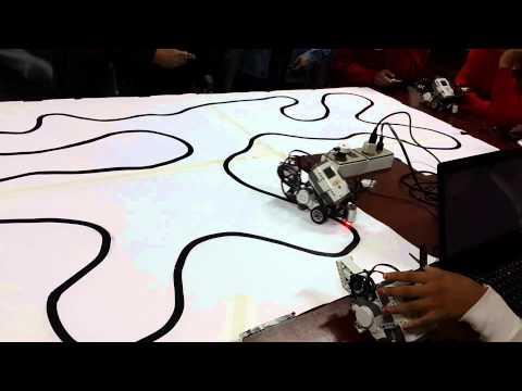 Seguidor De Linea PID Lego Mindstorms