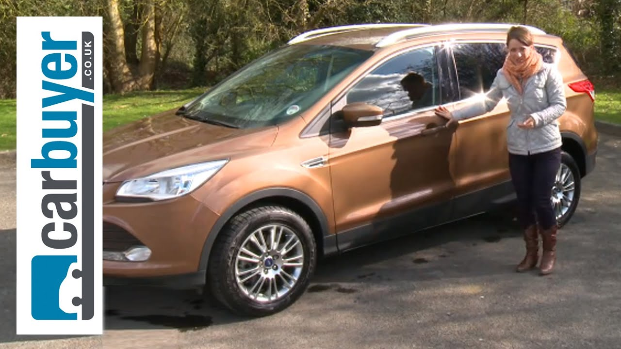ford kuga suv 2013 review carbuyer youtube. Black Bedroom Furniture Sets. Home Design Ideas