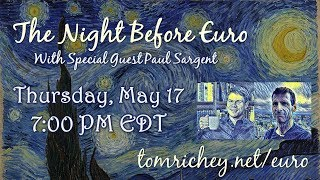 The Night Before Euro (with Paul Sargent)