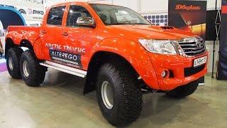 Toyota Hilux AT44 6x6 Arctic trucks Alterego - Exterior Walkaround
