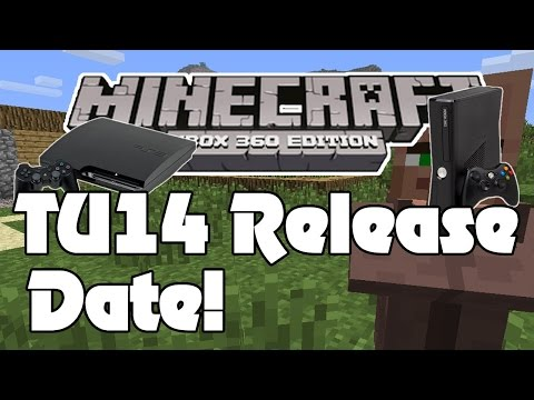 Minecraft TU14 Release Date & Features / Info - Xbox 360 & PS3 Edition