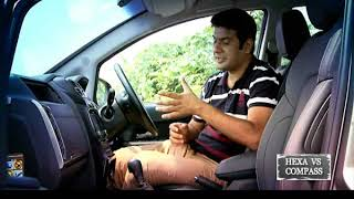 Jeep Compass Vs Tata Hexa - Living Cars