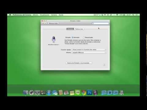 [Tutorial] Yo le dicto a mi Mac y lo escribe - Dictado en Mac Os X