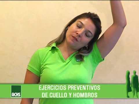 Pausas Activas ACHS: Cuello y hombros