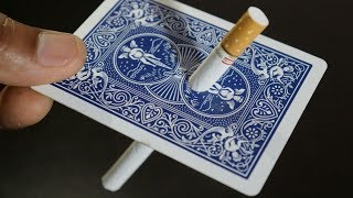 सिगरेट का जादू सीखें | Cigarette Magic Trick Revealed By Hindi Magic Tricks