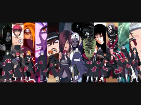 Naruto Shippuden The Akatsuki Themes video