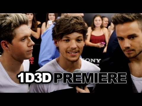 One Direction Talks Fans at This Is Us London & New York Premiere