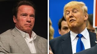 Arnold Schwarzenegger And Trump Fight On Twitter