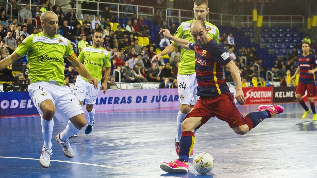 [HIGHLIGHTS] FUTSAL (LNFS): FC Barcelona Lassa-Palma Futsal