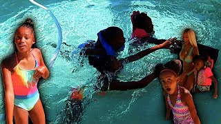 ELECTROCUTING THE POOL PRANK ON FAMILY