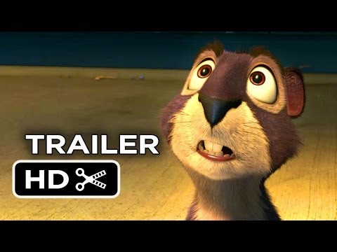 The Nut Job Official Trailer #1 (2014) - Will Arnett Animated Movie HD