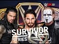 Seth Rollins (c) vs Roman Reigns vs Sting | WWE Survivor Series 2015!