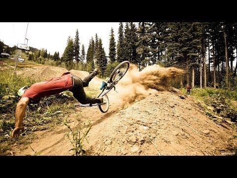 Неудачные падения и трюки на велосипеде. Приколы.