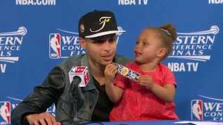 Riley Curry Returns for a PostGame Encore Performance