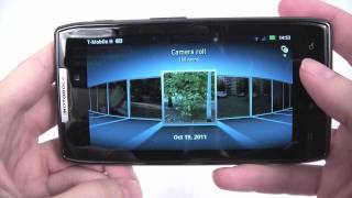 Motorola RAZR XT910 unboxing and menu review