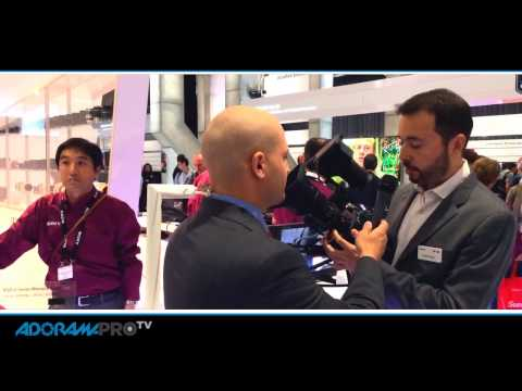 IBC First Look: Sony PXW-FS7 with Michael Artsis