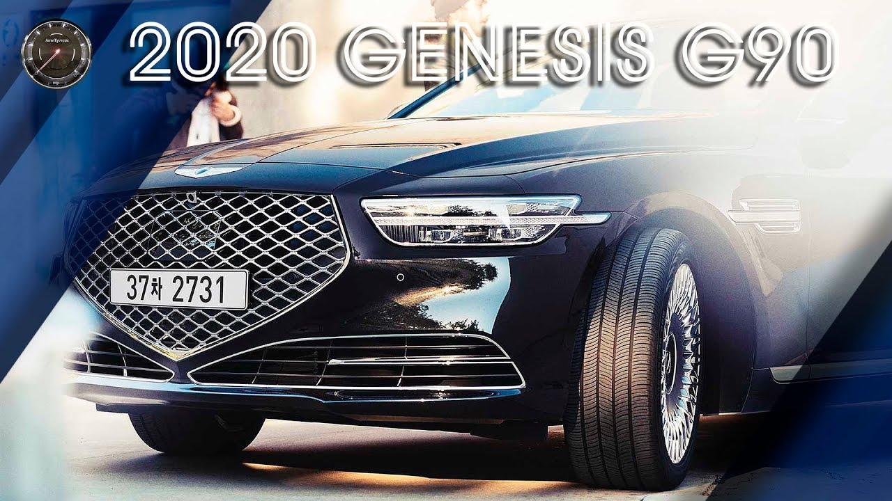Новый Genesis G90 2020 (Рестайлинг) - ОБЗОР