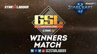 2018 GSL Season 3 Ro16, Group B, Winners Match: Dark (Z) vs Rogue (Z)
